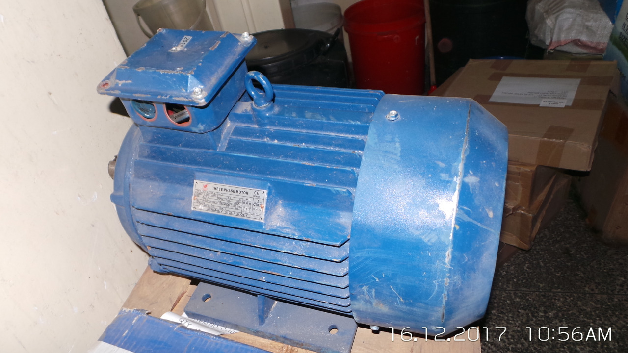 10.0hp Three Phase Motor 1400rpm – Alligator Electricals